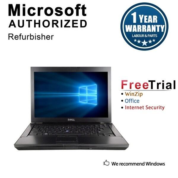 "Refurbished Dell Latitude E6400 14.1"" Laptop Intel Core 2 Duo P8400 2.26G 4G DDR2 160G DVD Win 10 Pro 1 Year Warranty - Black"