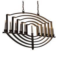 Artcraft Lighting AC10251 Perceptions 11 Light 1 Tier Linear Chandelier