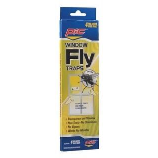 Pic ftrp window fly traps, 4 pk