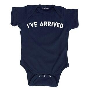 I've Arrived Funny Newborn Infant Humor Simple Cute Design Fashion Baby Bodysuit