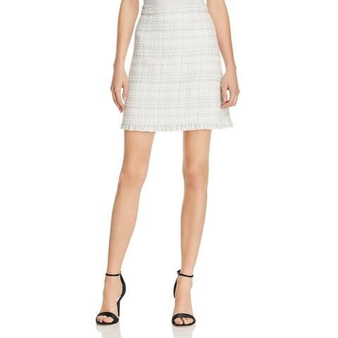 Kate Spade Womens Mini Skirt Sparkle Tweed