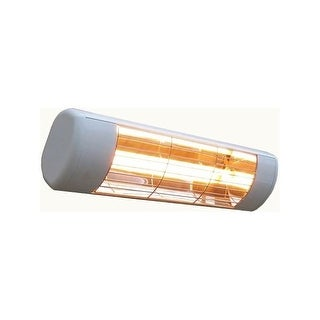 SUNHEAT 901015120 Wall Mounted Outdoor Heater. Gold Coated Lamp. - White