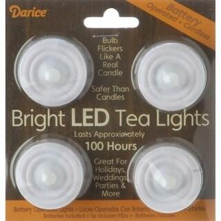 Led Tea Lights 4/Pkg