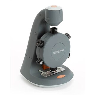 Celestron 44114 MicroSpin Digital Microscope (Grey)- Single Pack
