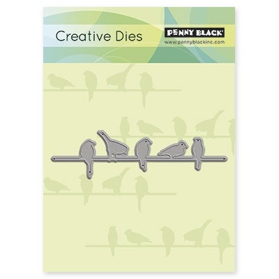 "Penny Black Creative Dies-In A Row, 4.3""X1.2"""