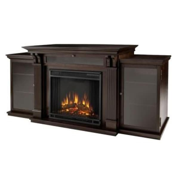 Real Flame 7720e Calie Entertainment Center Electric Fireplace Dark Espresso Free Shipping Today 15320793