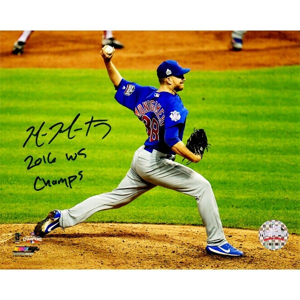 Mike Fiers In World Series: Shop Mike Montgomery Chicago Cubs 2016 World Series Game 7