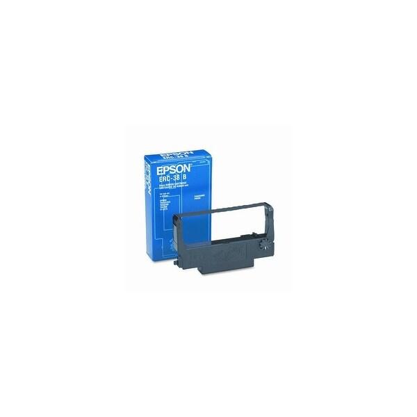 EPSON ERC38B Black Ribbon Cartridge f/ Dot-matrix Printing Technology