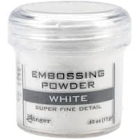 Embossing Powder-Super Fine White