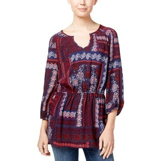 Tommy Hilfiger Womens Tunic Top Boho Printed (2 options available)