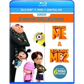 Despicable Me 2-Movie Collection [Blu-ray]