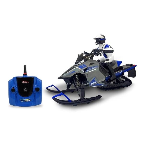 KidzTech 1:6 R/C Yamaha Snowmobile. Opens flyout.