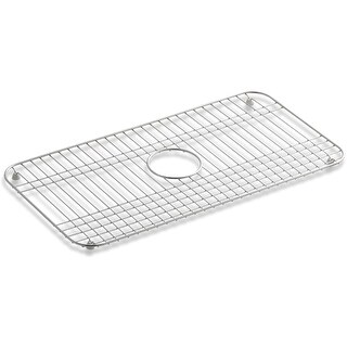 Kohler K-6517 Bakersfield Basin Rack for Single Bowl Sink - STAINLESS STEEL