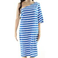 Lauren By Ralph Lauren Women's Large Stripe Dress