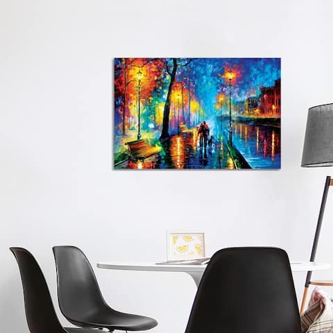 """iCanvas """"Melody Of The Night"""" by Leonid Afremov Canvas Print"""