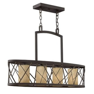 Fredrick Ramond FR41614 4 Light 1 Tier Chandelier from the Nest Collection