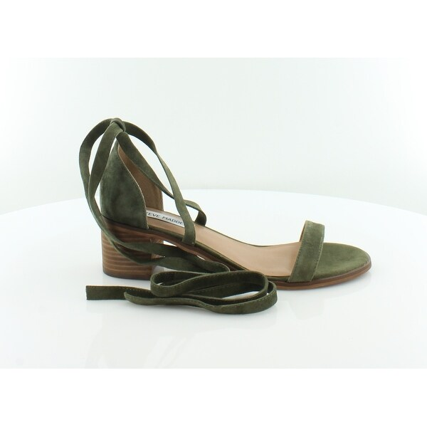 7037696608e Shop Steve Madden Rizza Women s Sandals   Flip Flops Olive - Free ...
