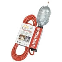 Coleman Cable  25' Black Sjeo 18-3 Trouble Light W-Coated Me