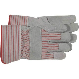 Boss 4093 Split Leather Palm Gloves, Large
