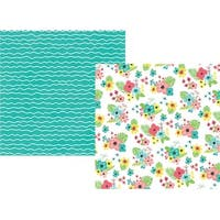 """O Happy Day - Hello Summer Double-Sided Cardstock 12""""X12"""" (25/Pack)"""