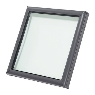 Velux FCM 2222 0005 27-3/8 Inch x 27-3/8 Inch Tempered Fixed Non-Vented Curb Mou - n/a