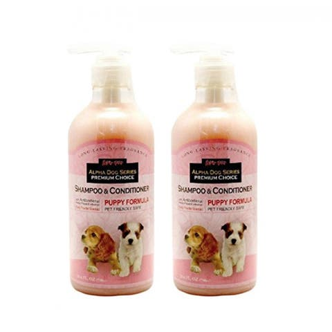 Alpha Dog Series Shampoo & Conditioner - Puppy Formula (Pack of 2)