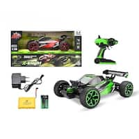 2.4Ghz 1:18 RC Racing Car Shockwave Buggy Radio Controlled Vehicle Red/Green