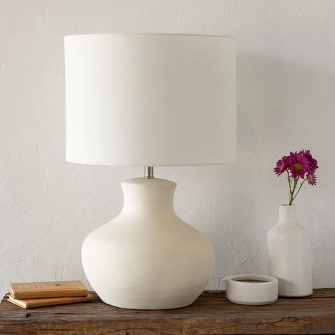 Brynlee Ivory Transitional Table Lamp