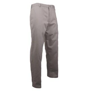 Dockers Men's Signature Khaki Flat-Front Pants (Cloud, 40x29) - 40x29