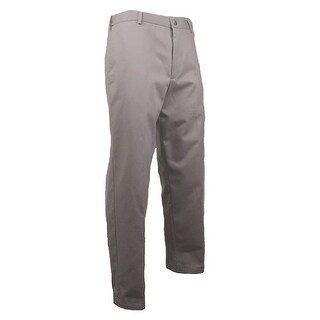 Dockers Men's Signature Khaki Flat-Front Pants (Cloud, 40x29) - Cloud - 40x29