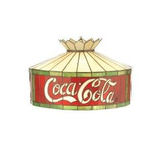 "Meyda Tiffany 74082 20"" W Coca-Cola Pendant"