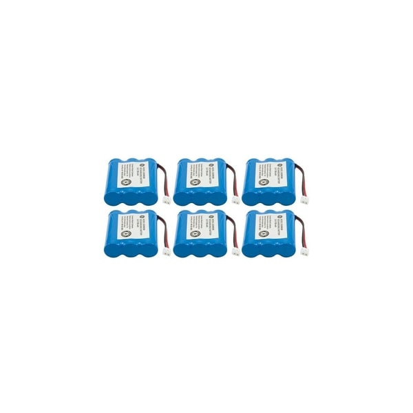 Replacement Battery for AT&T (6-Pack) Replacement Battery for AT&T 2422 / 23402 / GE-TL26145 / CPH-403D