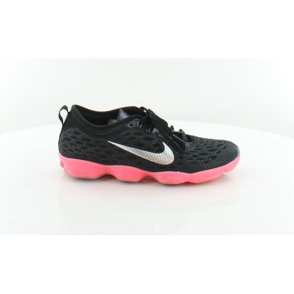 design de qualité 9df61 c58e0 Shop Nike Zoom Fit Agility Women's Athletic Black/Ivory ...