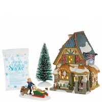 Christmas Carol Poulterers Shop Set