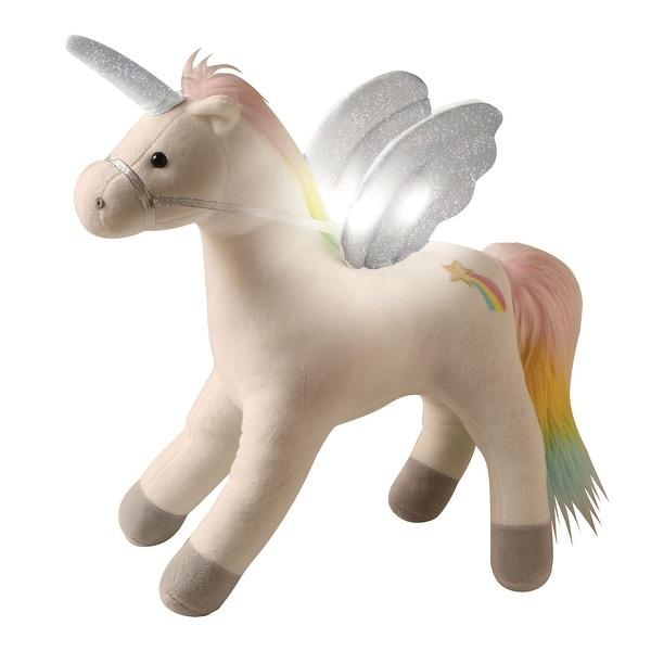 Shop Gund My Magical Light And Sound Plush Unicorn Pegasus Stuffed