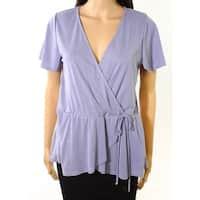 Moa Moa Temmpest Women's Medium Surplice Knit Top