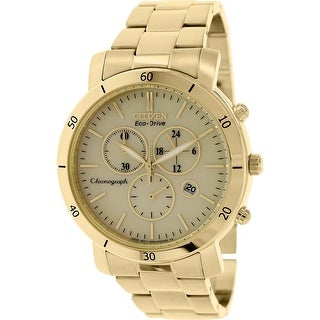 Citizen Women's Eco-Drive FB1342-56P Gold Stainless-Steel Dress Watch