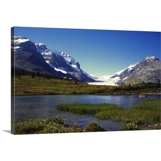 """Columbia Icefield, Banff Nationalpark, Canada"" Canvas Wall Art"