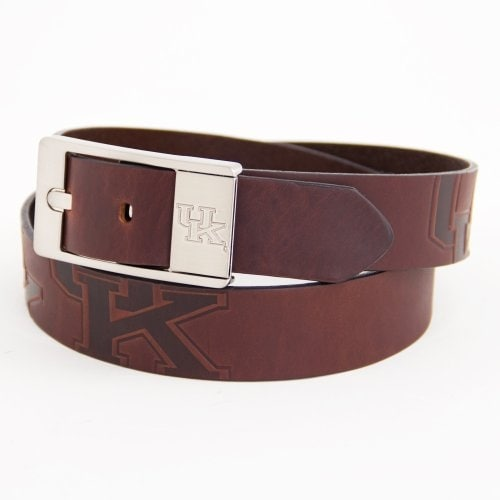 Kentucky Wildcats Branded Leather Belt