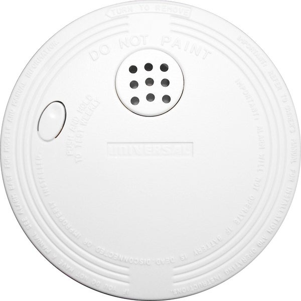 Xintex SS-775 Smoke Detector & Fire Alarm - 9V Battery Powered