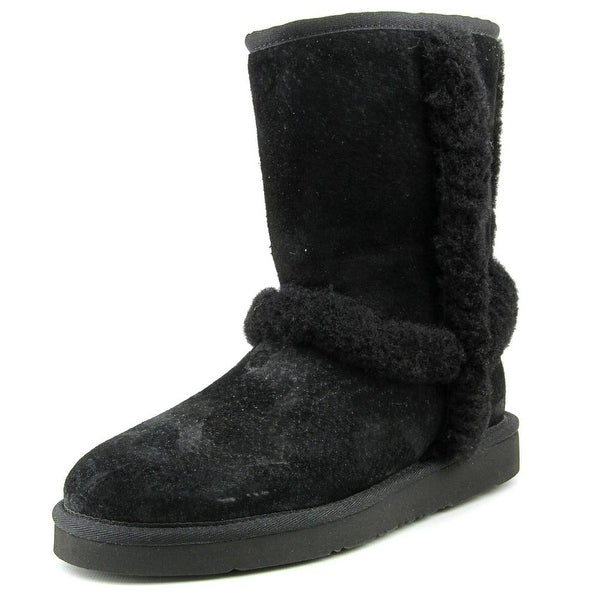 Ugg Australia Carter Round Toe Suede Winter Boot