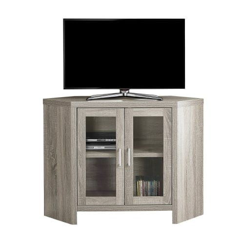 Monarch Specialties I 2701 42 Inch X 15 Inch Wood Tv Stand Free