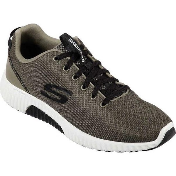 Skechers Paxmen Wildespell Mens Gray Casual Low Top Sneakers Shoes 12
