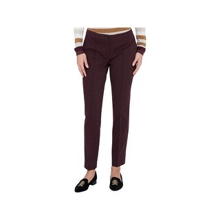 Tommy Hilfiger Womens Trouser Pants Ponte Slim Leg
