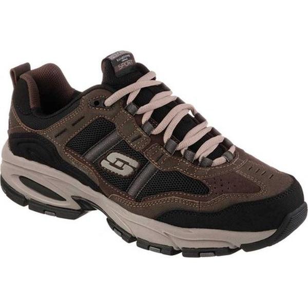 promo code 50710 bb044 Skechers Men  x27 s Vigor 2.0 Trait Cross Training Shoe Brown Black