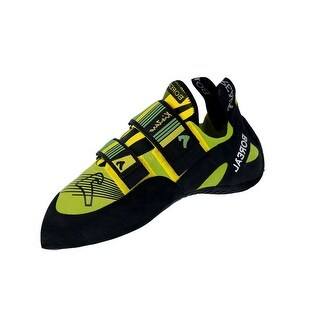 Boreal Climbing Shoes Mens Kintaro Leather Black Yellow Green 11562