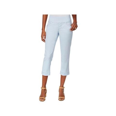 Jag Jeans Womens Marion Capri Pants Classic Fit Skinny