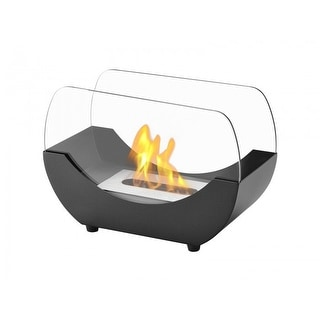 Ignis TTF-053 Liberty Black Tabletop Ventless Ethanol Fireplace
