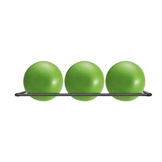Stability Ball Storage Wall Rack (Holds 3 Balls)
