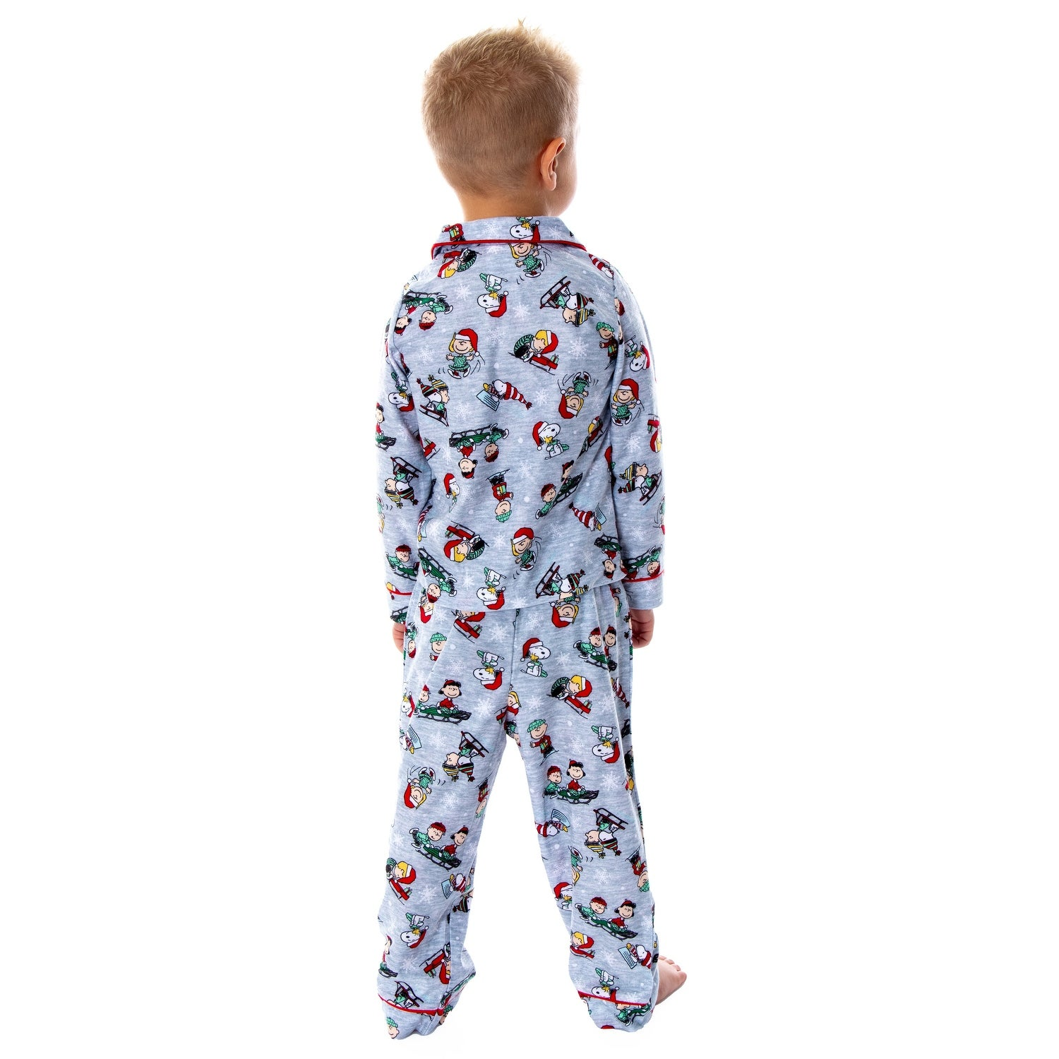 Peanuts Boys Snoopy /& Woodstock 2-Piece Pants Set Outfit